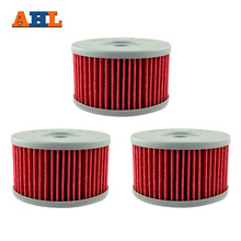 AHL 137 3pcs Oil Filter FOR SUZUKI XF650 Freewind 97 02 S40 DR 650SE DR 600 DR 500 S DR750 DR800 LS650 Savage RSE SP500