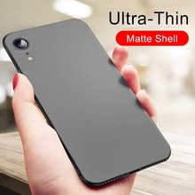 Ultra Thin Phone Case For iPhone X XS MAX XR Soft TPU Matte Silicone Protective Case For iPhone 8 7 6 6s Plus 5 5s SE Back Cover laser person pattern protective abs back case for iphone 5 5s transparent silver