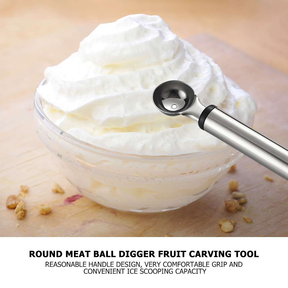 Замороженный йогурт, ложка для мороженого, фрукты из нержавеющей стали, арбуз, льдогенератор для бытовой кухни, удобная часть