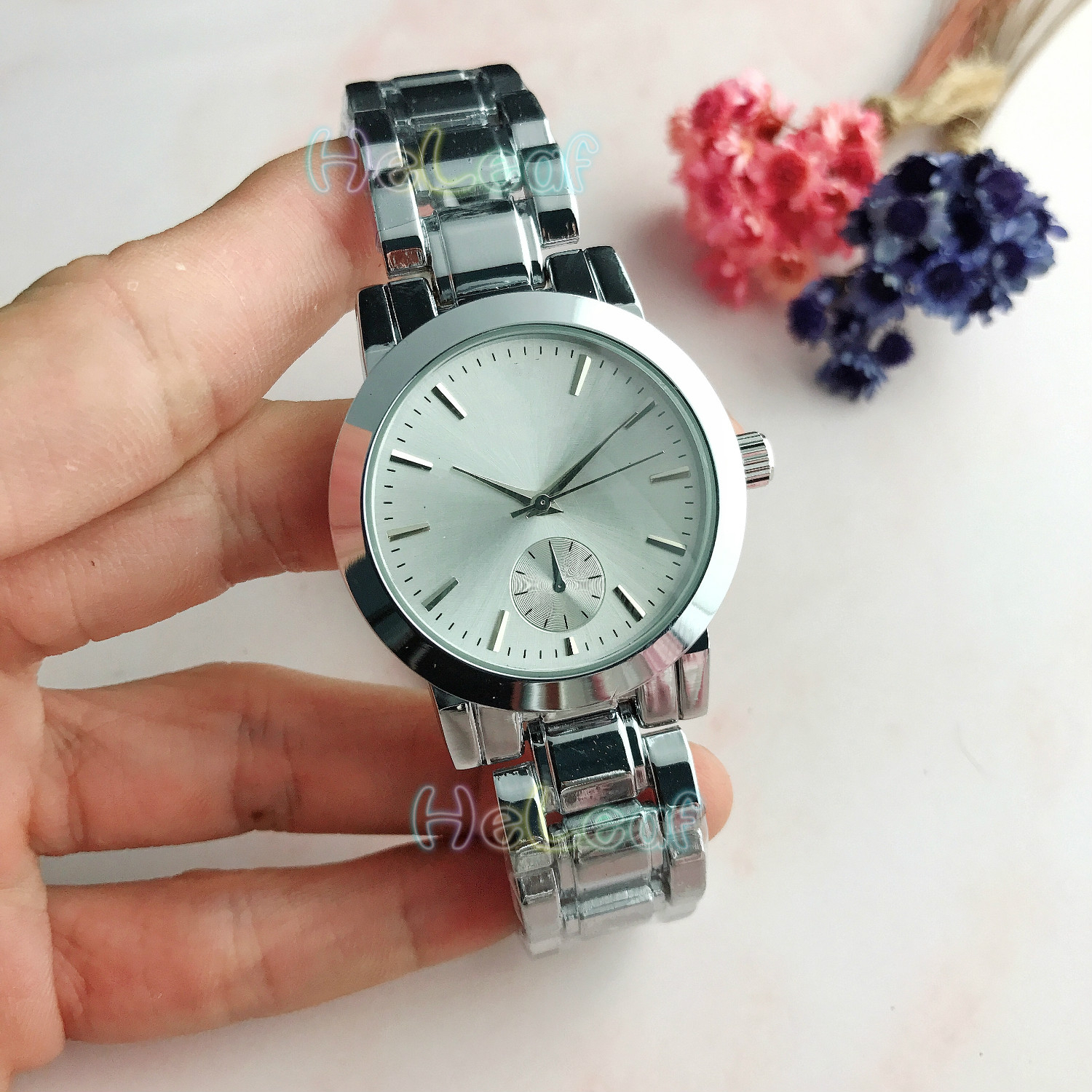 Luxury Brands Hot Sale Ladies Watches Silver Gold Steel Quartz Watch Female Clock Montre Femme Relogio Feminino Gift Reloj Mujer