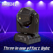 Scene-Show-Lights Beam Laser Disco Mobile-Head DMX512 Dj Stage Soccer 16X3W Dual-Arm