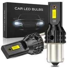 T20 T25 T15 voiture lumière LED feux de freinage automatique 1156 BA15S 1157 BA15D ampoule clignotant 3570 20W voiture marchandises Super lumineux lampe 1 pièces