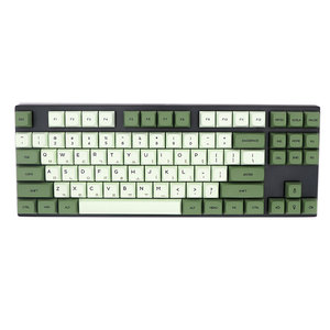Image 5 - Keypro Matcha Green Ethermal Dye Sublimation fonts PBT keycap For Wired USB mechanical keyboard 124 keycaps