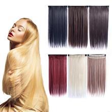 Модные длинные прямые синтетические парики Смешанные коричневые и светлые многоцветные длинные парики для белых/черных женщин средняя часть натуральные парики
