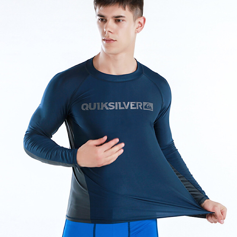 Maillot de bain manches longues en Lycra pour hommes, Protection contre les UV, t-shirt à séchage rapide pour la conduite, le Surf, 6XL, M-6XL 1