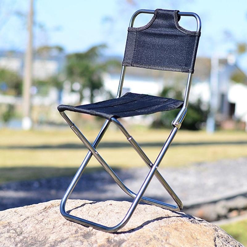 dobrável tamanho pequeno cadeira acampamento caminhadas cadeira
