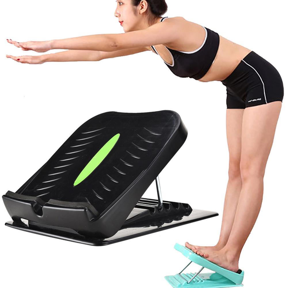 Portable Foot Stretcher Slant Board Ergonomic Foot Rest Adjustable Incline Calf Anti-Slip Muscles Exercise Workout Equipment image