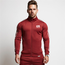 2019 New Mens Hoodies Casual Sports Design Zipper Autumn Winter Jacket Long-sleeved Cardigan dress Men trousers Brand Clothing