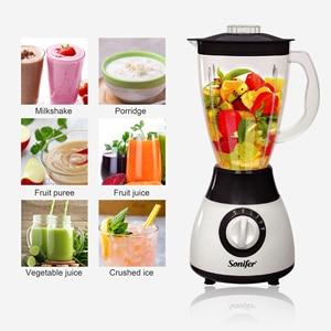 Image 4 - 300ワット電気フードプロセッサープロフェッショナルブレンダーミキサーキッチン家電ブレンダー電気果物や野菜sonifer
