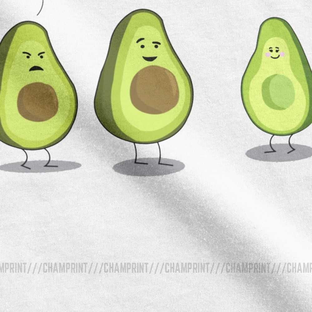 Avocado Humor Stop Guac Blokkeren T Shirts Mannen Katoen Grappige T-shirts Vegan Guacamole Cartoon Voedsel Leuke Tee Korte Mouw Tops 5XL