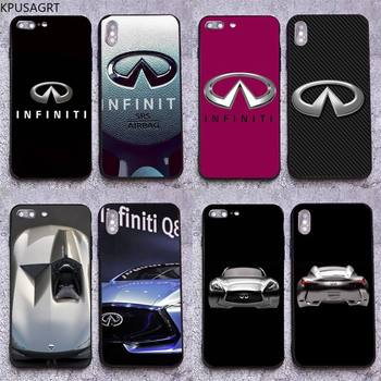 Super Car Infiniti Logo Phone Case for iphone 12 pro max 11 pro XS MAX 8 7 6 6S Plus X 5S SE 2020 XR case image