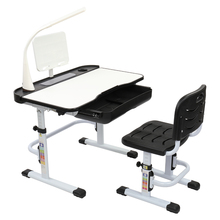 Children Learning Table And Chair Kid Study Desk Black 70CM Lifting Table Top Can Tilt With Reading Stand USB Interface Lamp cheap CN(Origin) (29 92 x 22 44 x 12 01) (76 x 57 x 30 5)cm (L x W x H) China 92917653 19249093 Wood-based Panels E1 Grade Medium Density Fiberboard Q915 Cold Rolled Steel