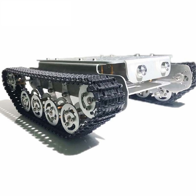 Caesar Tank TSD 200 33 GB -520 Shock Absorber 4wd Track Metal Tank Remote Control Car Chassis