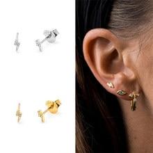 Boucles d'oreilles en argent 2019 Sterling 100% pour femmes, pendentif Lightning, A30, meilleure vente 925