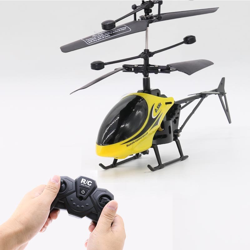 2CH Two-way RC Drone Mini RC Helicopter With LED Light Suspension Induction Electronic Model Remote Control Toys Gifts For Kids 3