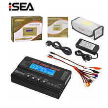 HTRC Balance Charger Imax B6v2 80W 6A LiPo Battery Charger 15V 6A AC For LiIon/LiFe/NiCd/NiMH/High/LiHV RC Charger Discharger
