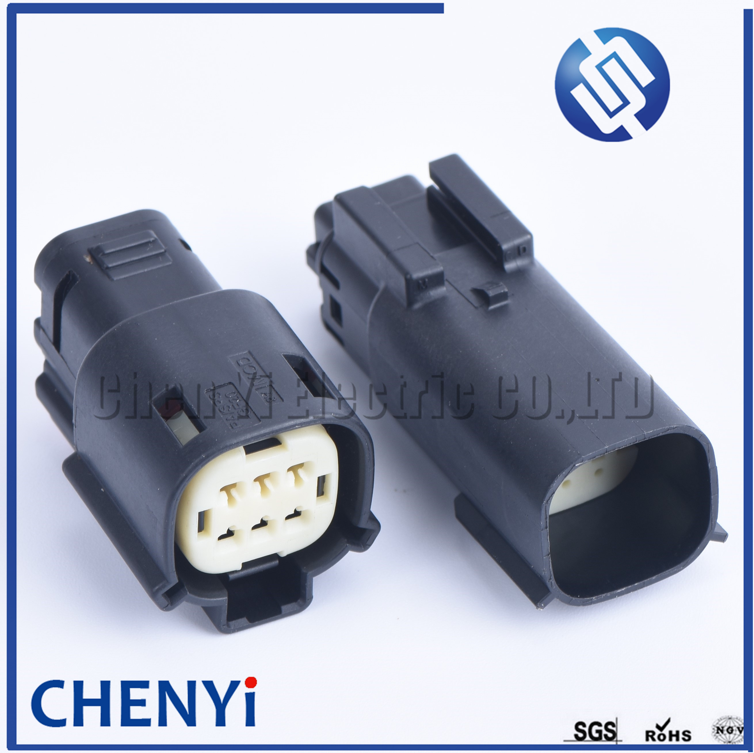 1 set  6 pin  Molex male or female Automotive Waterproof Connectors For Ford Mondeo 33472-0606 33482-0601