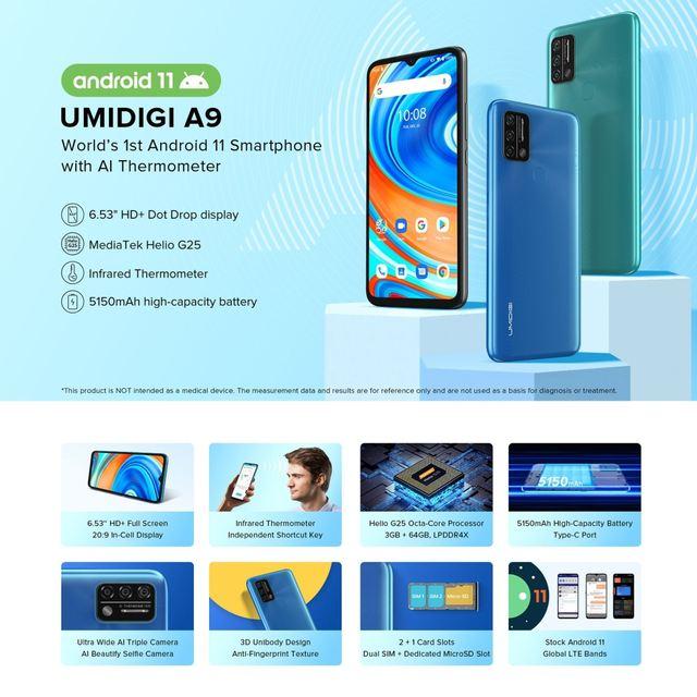 UMIDIGI A9 Global Version Smartphone 13MP