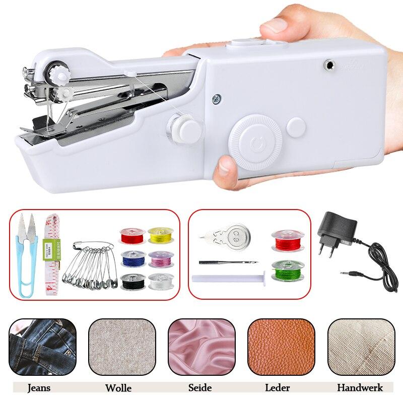 Купить портативная ручная мини швейная машина бытовая электрический