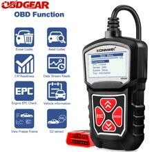 KONNWEI KW309 Obd2 רכב סורק רכב סורק מנוע Analyzer רכב כלים מלא OBD 2 EOBD קוד Reader רכב אבחון כלי