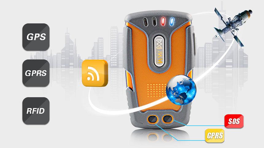 Купить с кэшбэком JWM GPS GPRS RFID Guard Tour Patrol System with Free Software