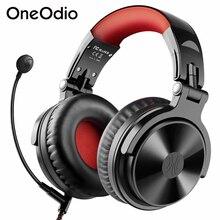 Oneodio Pro M kablosuz mikrofonlu kulaklıklar CVC8.0 Stereo kablolu oyun kulaklığı oyun Bluetooth uyumlu telefon PC için PS4