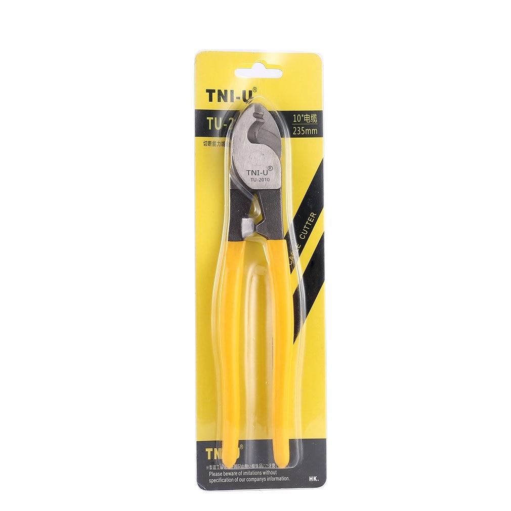 TU 2006 6 pouces câble Cutter universel fil dénudeur fils électriques dénudage pinces câble sertisseur dénudeurs outils - 5