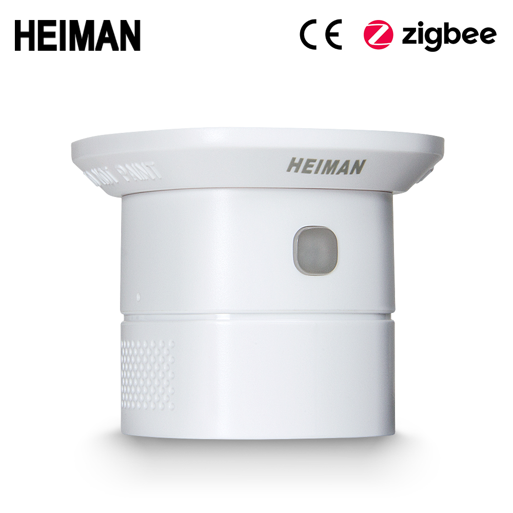 HEIMAN Zigbee CO Sensor  Carbon Monoxide Detector High Sensitiv Poisoning Warning Alarm Work Smart House
