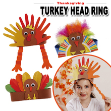 kindergarten lots arts crafts diy toys Turkey head ring crafts kids educational for children's toys girl/boy gift