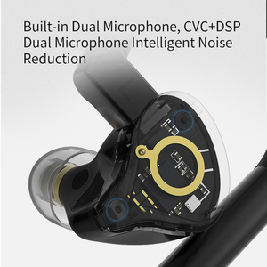 Image 5 - KZ E10 TWS Wireless Bluetooth 5.0 Earphones Hybrid HIFI Bass Earbuds Headset Sport Noise Cancelling Earphones