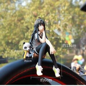 Image 5 - יפן סגנון רכב קישוטי יפה יפה בנות רכב פנים בקרת בית שולחן קישוט צלמיות & מיניאטורות קריקטורה ילדה