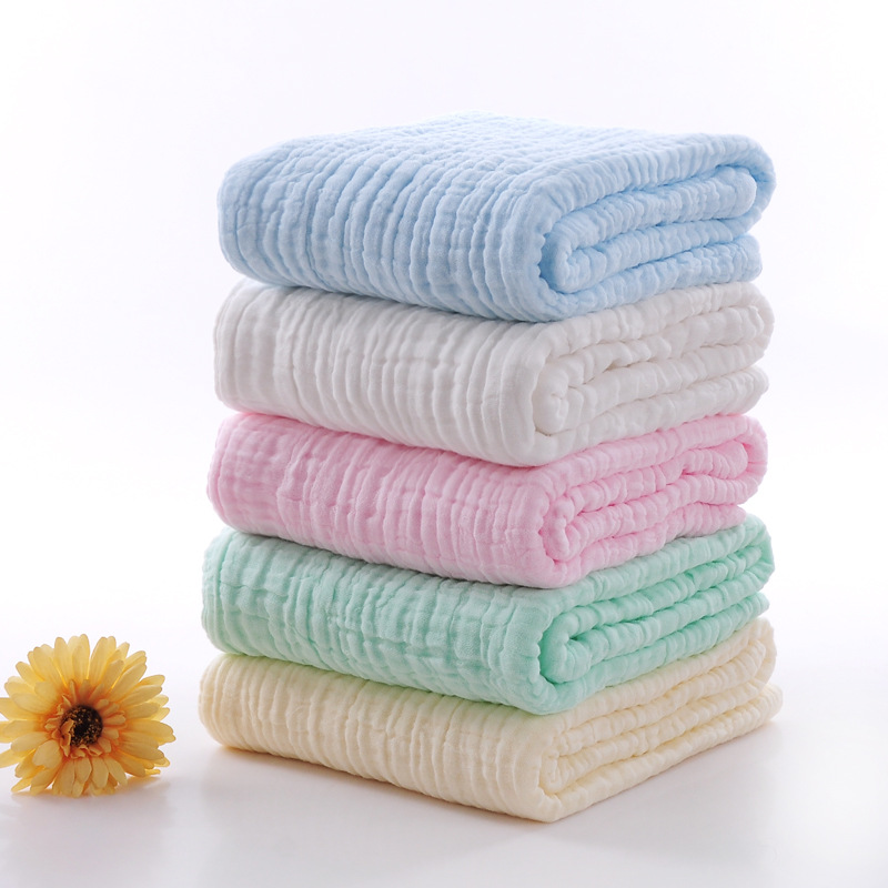 Baby Muslin Swaddle Growth Blanket Soft Gauze Baby Care Quilt Stroller Blanket Newborns Swaddling Wrap Baby Hydrofiel Doeken