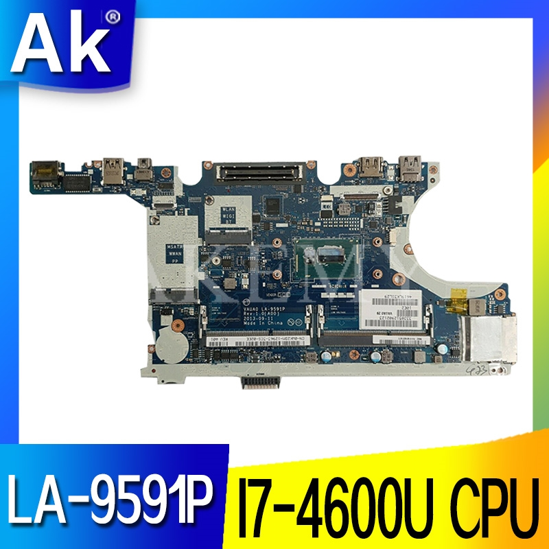 MB LA-9591P Laptop motherboard for Dell Latitude E7440 original mainboard <font><b>I7</b></font>-<font><b>4600U</b></font> image