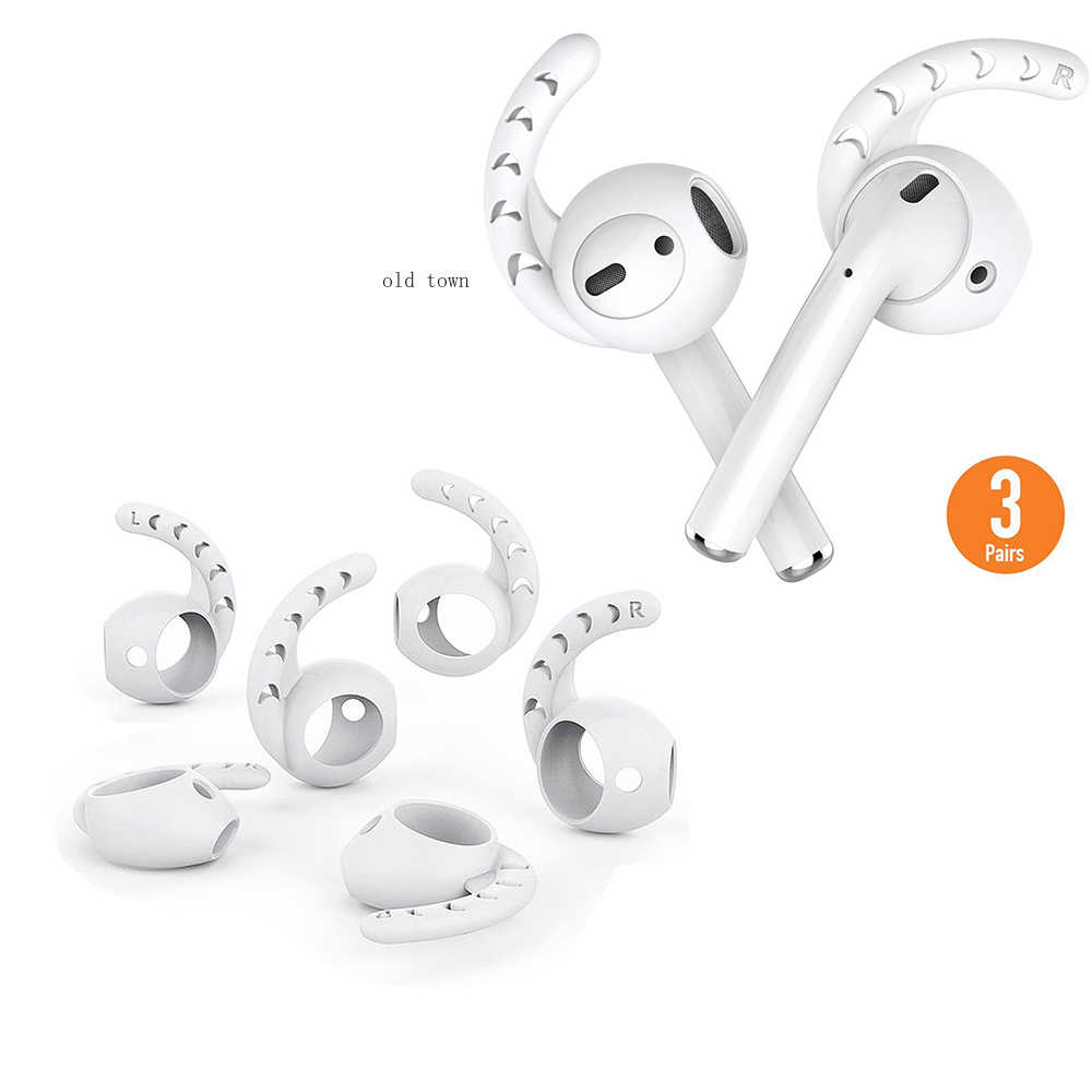 Etui na słuchawki dla Apple AirPods 2 pokrywa silikonowa bezprzewodowe słuchawki Bluetooth dla powietrze pokrowiec ochronny do AirPod slim przypadku