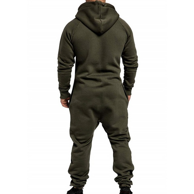 Streetwear Hoody and Pockets Jumpsuit Men – 21JS