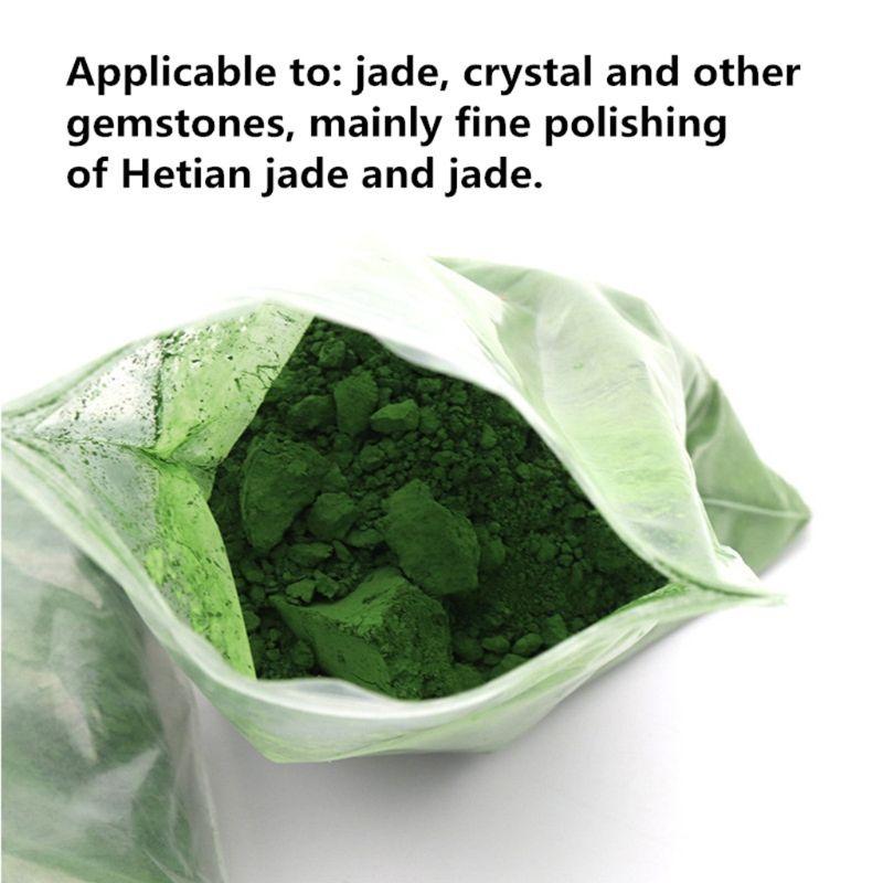 2020 New 50g Jade Emerald Agate Polishing Powder Glass Composite Chromium Oxide Power
