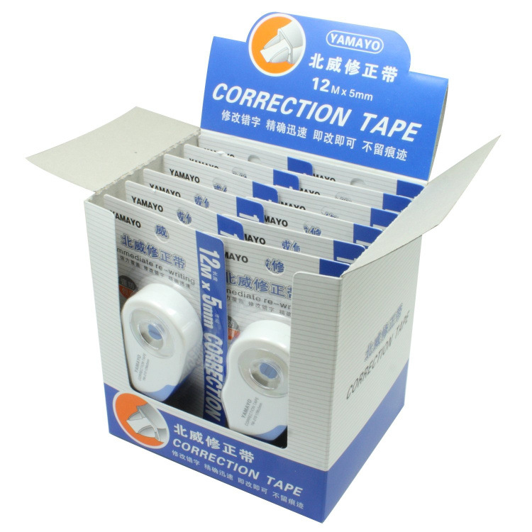 Nwcs Correction Tape Nwcs Corretion Pen/fluid YM-210 Correction Tape 12 M Long