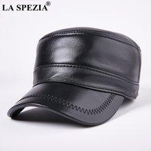 Мужская кепка в стиле милитари la spezia черная Повседневная