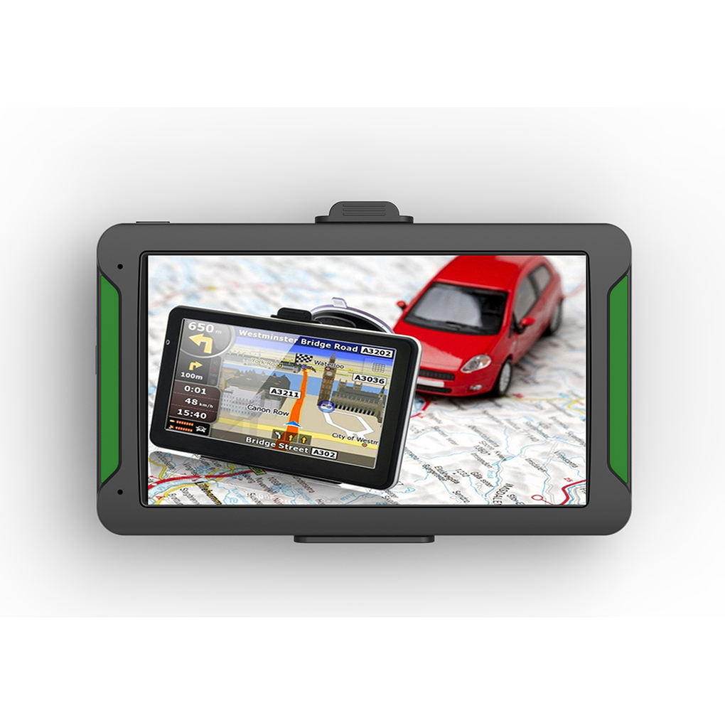 7inch Touchscreen 8GB 128RAM Car GPS Navigation 7 Models Real Voice Navigator+FM Transmission+ Free Maps
