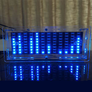 Diy-Parts Display SMD Flash LED SCM Production-Kit Gift Music-Spectrum Electronic-Training