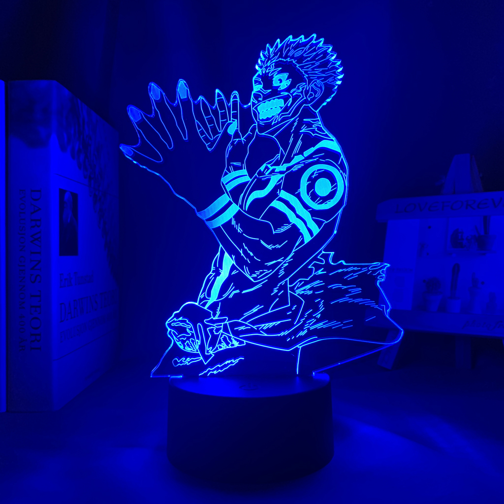 H4e0a06e9cf094ebcbf23263992a0e042T Luminária Luz da noite do diodo emissor de luz da noite para o presente de aniversário jjujutsu kaisen nightlight ryomen sukuna lâmpada