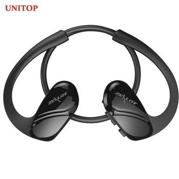 UNITOP ZEALOT H6 Wireless Bluetooth Headset Handsfree Headphones Sports Neckband Earbuds Music Eardphones For iPhone xiaomi