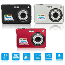 2.7inch 18MP 720P Children Portable Mini Digital Camera 8X Zoom TFT LCD Screen Video Camcorder Anti-Shake Photo Camera Kids Gift 5mp cmos gps professional car black box w 8x digital zoom hdmi av out tf 2 36 tft lcd