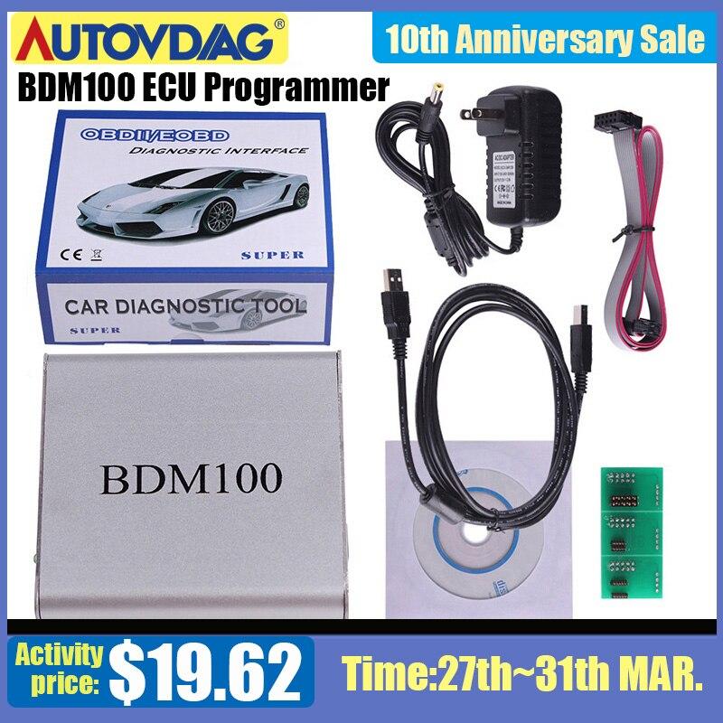 2020 BDM100 ECU Programmer Car Styling Diagnostic-tool ECU Flasher  BDM100 ECU Chip Tuning Tool ECU Reader V1255 Free Shipping