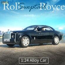 1:24 Alloy Diecast Toy Vehicl Rolls Royc
