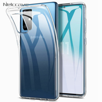 100Pcs Ultra Thin TPU Case For Samsung Galaxy S20 Ultra S10 Lite S10e S9 Plus S8 S7 Note 10 Pro Transparent Silicone Clear Cover