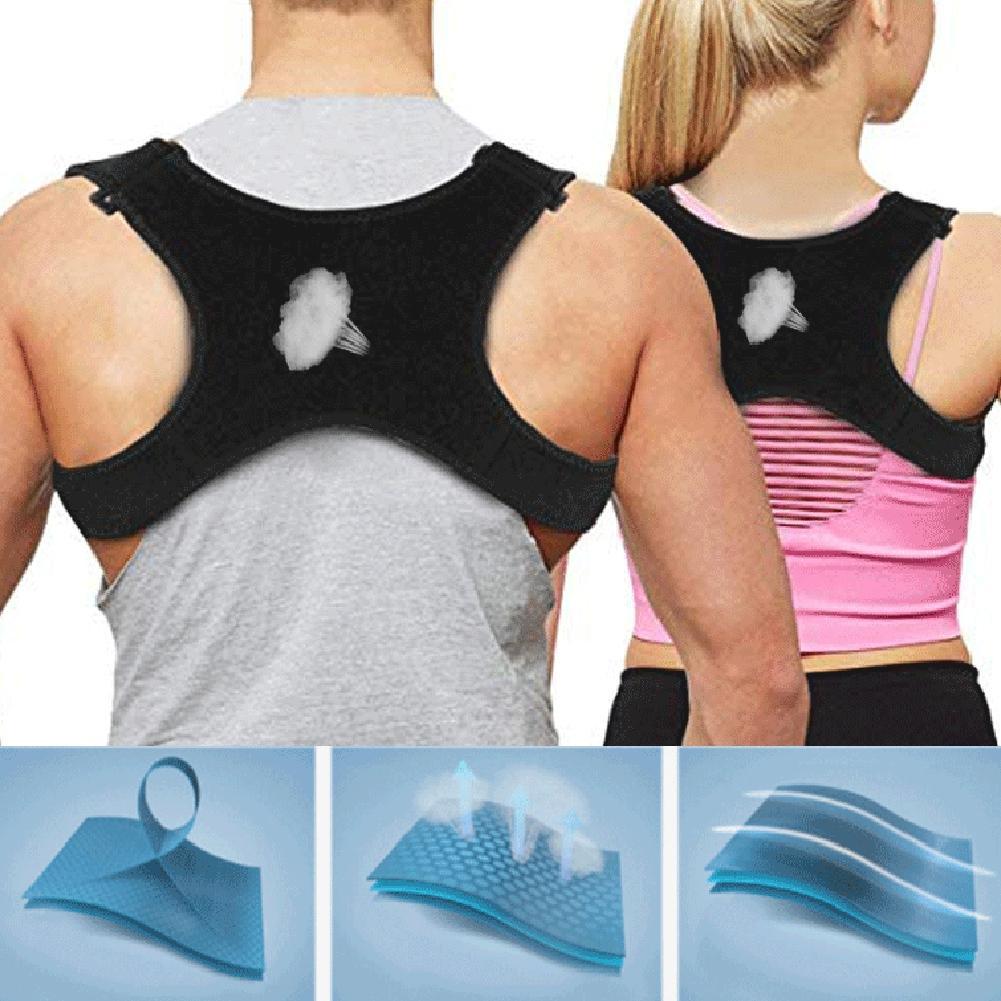 Back Posture Corrector Shoulder Straight Support Brace Belt Therapy Men Women Back Posture Corrector Beauty Tools