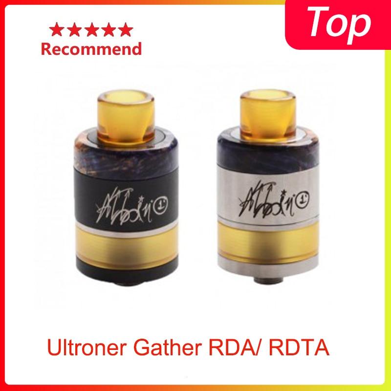 Newest G-taste Ultroner Gather RDA/ RDTA Top Filling&bottom Feeding& 3 Different Sizes Airflow Inserts Vape Tank Vs Zeus X