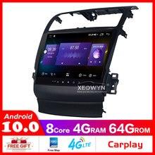 5グラムwifiオクタコア車androidのため10 tsx 2004 2008 1024*600カーラジオのgpsナビゲーション内部carplay
