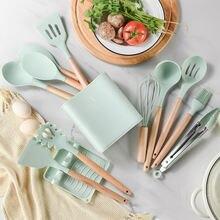 Силиконовая кухонная посуда набор кухонной утвари антипригарная
